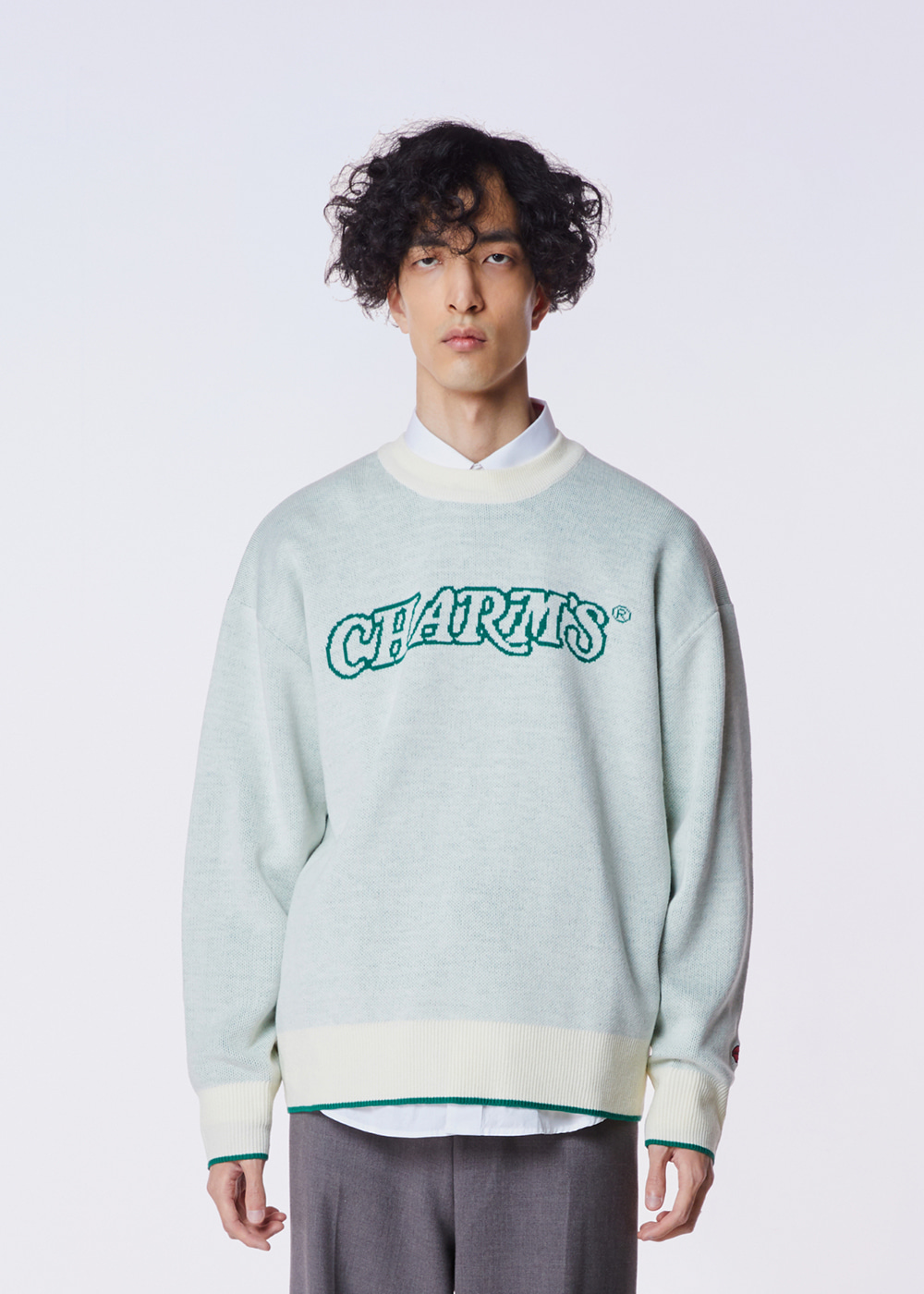 CHARMS WAVE LOGO KNIT BE